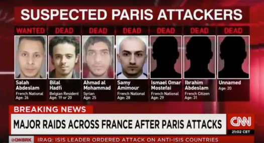 Suspected Attackers